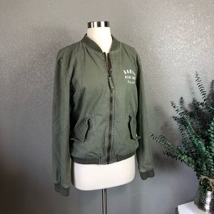 1c87afd92ac RVCA neutral all city bomber jacket XS olive